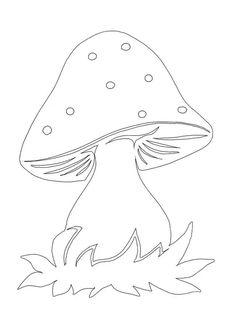 Осінні витинанки: якісні шаблони для скачування (30 фото)   жіночий журнал Коліжанка Pumpkin Coloring Pages, Cute Coloring Pages, Animal Coloring Pages, Adult Coloring Pages, Coloring Sheets, Coloring Books, Mushroom Crafts, Mushroom Art, Halloween Drawings