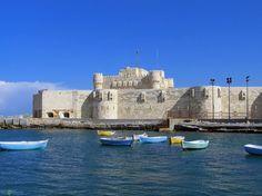 Quitbay Citadel, Mediterranean Coast of Alexandria, Egypt. #Shore #Excursions