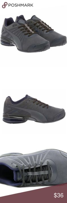 3ad3f9620bb PUMA Men s Cell Kilter Cross-Training Shoe Gray Color  Gray Nubuck upper  with synthetic