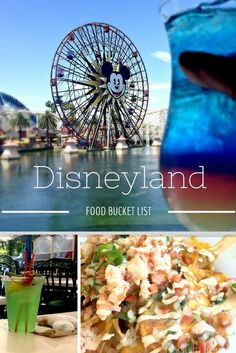 A trip to Disneyland should include trying out something new. My Disneyland food bucket list had some new things crossed off recently: Lobster Nachos and the Fun Wheel at the Cove Bar. Special shout out to Mickey shaped beignets and the Mint Julep!