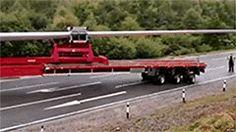 【動画】61m巨長トラックの神技右折