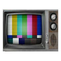Vintage Old TV Retro Nostalgia by Old School Design Tvs, Vintage Tv, Vintage Vibes, Vintage Industrial, Pop Art, Tv Head, Tv Box, Television Set, Vintage Television