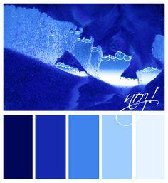 color palette - ice blue