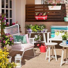 """Una terraza """"happy"""" para toda la familia"""