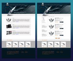 Дизайна интернет-магазина автозапчастей. Понравился? Заказывайте! http://itkp.com.ua