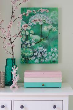upcycling eines alten Nähkastens aus Holz zum DIY Schmuckkasten oder Beautycase als Deko Highlight für das Schlafzimmer