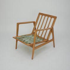 ClassicModern.pl » Dębowy fotel DANISH MODERN id 300315