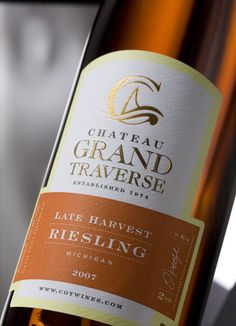 Chateau Grand Traverse Late Harvest Riesling