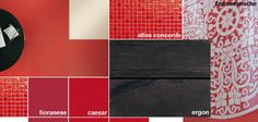 ASD architecture is using these red hot #tiles to create a bar/lounge at the @Coverings Show Installation Design Showcase! See the space come to life during the show in Booth 5656!