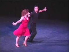 swing dance - I could do this......i know a lot of these steps already....she is very smooth.