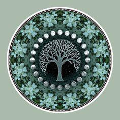Winter Solstice, Mandala Art