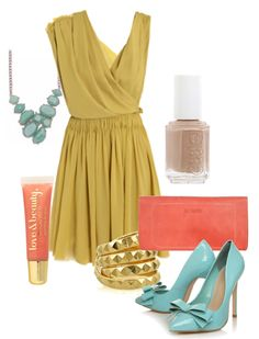 who's got a summer wedding to go to? try color blocking