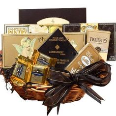 Art of Appreciation Gift Baskets With Heartfelt Sympathy - Medium : Gourmet Snacks And Hors Doeuvres Gifts : Grocery & Gourmet Food Sympathy Gift Baskets, Sympathy Gifts, Gourmet Food Gifts, Gourmet Recipes, Food Gift Baskets, Chocolate Gifts, Chocolate Wine, Chocolate Cakes, Coffee Gifts