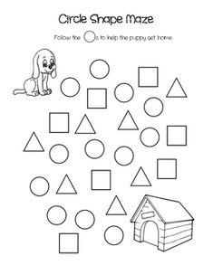 follow the triangle maze free math math and the triangle. Black Bedroom Furniture Sets. Home Design Ideas