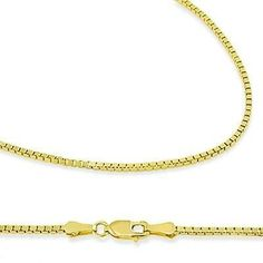 Offers Price, Discount $137.00 (44%) - 14k New Solid Yellow Gold Box Chain Necklace 8mm 20 2 7 Grams With Secure Lobster Lock Clasp - Buy Now only $175.00 USD for 1 Items Available In Stock - Usually ships in 1-2 business days
