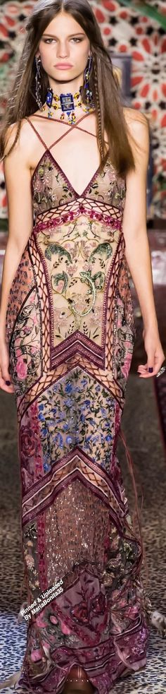 Roberto Cavalli SS-2017 Ready To Wear Collection Highlights