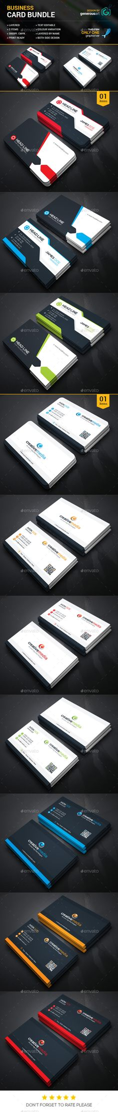 Business Card Bundle 2 in 1 - Corporate Business Cards Download here : http://graphicriver.net/item/business-card-bundle-2-in-1/12071361?s_rank=1751&ref=Al-fatih