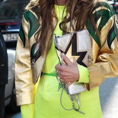 Maxi Clutches, moda de rua - fashion street