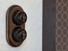 el gants et raffin s ces interrupteurs fontini de la collection garby apporteront du style. Black Bedroom Furniture Sets. Home Design Ideas
