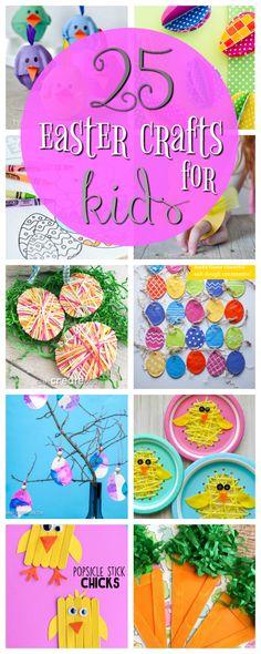 25 Easter Crafts for Kids