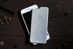 Protect Your Investments! Luna Concrete Skin for iPhone 6
