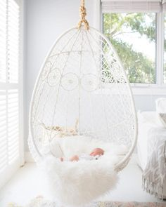 Hanging Swing Chair for Bedroom. Hanging Swing Chair for Bedroom. Indoor Swing Chairs Inspirations for Your Home Decor Teen Room Furniture, Balcony Furniture, Teen Room Decor, Furniture Ideas, Balcony Chairs, Office Chairs, Furniture Design, Hanging Swing Chair, Hanging Chair From Ceiling