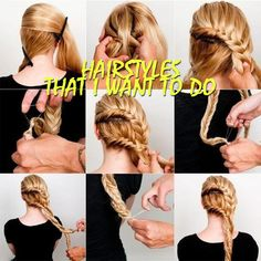 Hairstyles that I want to do