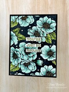 You're Just So Fabulous - True Love DSP - Many Mates - handmade card Stampin' Up! - Fiona Bradley Card Making Templates, Card Making Kits, Card Making Supplies, Card Making Tutorials, White Gel Pen, Wink Of Stella, Card Making Inspiration, Card Maker, Thank You Gifts