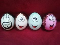 Funny Eggs Painting