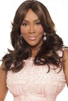 Vivica A Fox Synthetic Weave Cap Wig - Hassee