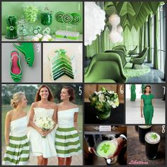 Green St. Patrick's Day Wedding Inspiration - WV WEDDINGS (http://www.mywvwedding.com/Planners-Palette/March-2012/Happy-St-Pattys-Day/)