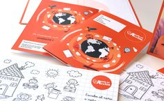 Cinco Sentidos diseño y comunicación | PIEZAS DE COMUNICACIÓN GRÁFICA: Fundación Ayuda en Acción