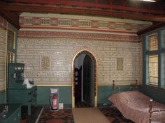 Lord Bute's bedroom, Castell Coch Welsh Castles, Cymru, Wales, Lord, Bedroom, House, Home Decor, Decoration Home, Home