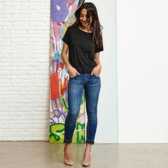 Closet Lit: Jeans Capri
