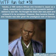 WTF fun fact #3111 ~ Yasuke the samurai