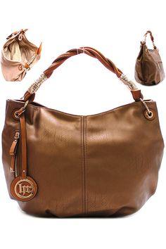 Metallic Bronze handbag