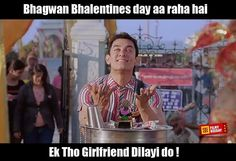 Single boys  #valentinesday #india #funnymemes #funny #pk #aamirkhan #lol #love #14feb #indiancinema #indianfunny