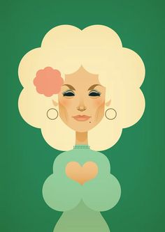 Dolly Parton by Stanley Chow