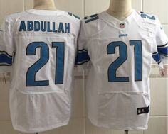 Nike NFL Detroit Lions Customized Game Team Color Blue Jersey  supplier