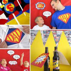 Superman party & photo ideas