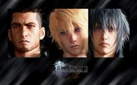 Gladiolus, Prompto and Noctis - Final Fantasy XV wallpaper 1920x1200 jpg