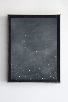 Orion Constellation Giclee Fine Art Print // by bellesandghosts