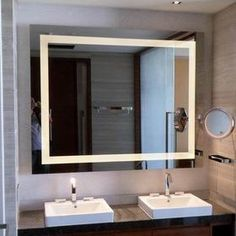 Led Bath Mirror Lighting The Bathroom Idea