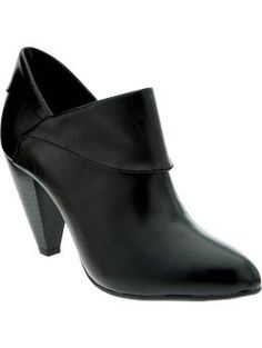 Faux-leather shooties from Old Navy. I'm suddenly attracted to this, but it's an impractical shoe for running after a hyper preschooler. $32.94