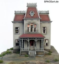 Psycho: The Bates Mansion Diorama, Fertig-Modell ... http://spaceart.de/produkte/psy002.php