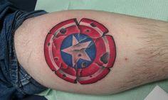 captain america tattoo designs for men and women1 (1)