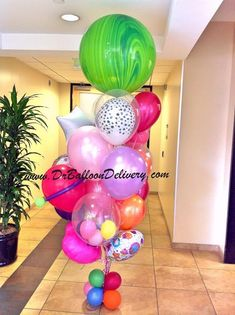 Big Balloons Birthday Balloon Delivery Bouquet Decorations Party