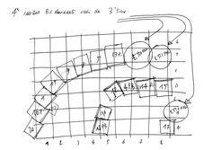 Lo spostamento forse più difficile: i pannelli  a sinistra vengono girati con la cartapesta verso il pubblico a formare una linea sinuosa. A destra, con l'interno verso il pubblico, a formare la linea delle forze francesi. Tutto al buio, ovvio.