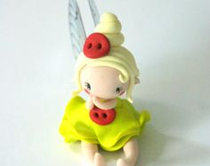 OOAK  Fairy Figurine by TheDollAndThePea on Etsy