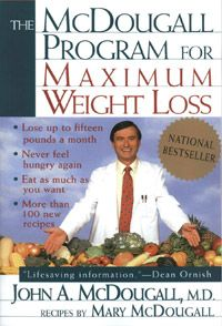 Dr. McDougall draws on the latest scientific and medical evidence about nutrition, metabolism, and hunger to provide a simple weight-loss plan featuring 100 healthy and and delicious recipes. Imagine eating as much as you want, as often as you want, and still lose up to fifteen pounds a month. You will be able to lower your blood pressure and cholesterol, reduce the risk of heart problems and concerns and eliminate most food allergies.
